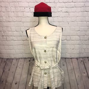 Lucky Brand  size Large Sleeveless Top